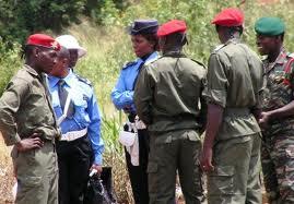 Un regroupement de policiers au Cameroun: Google images