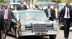"Arrivée de Paul Biya: ""Cameroun24.net"""