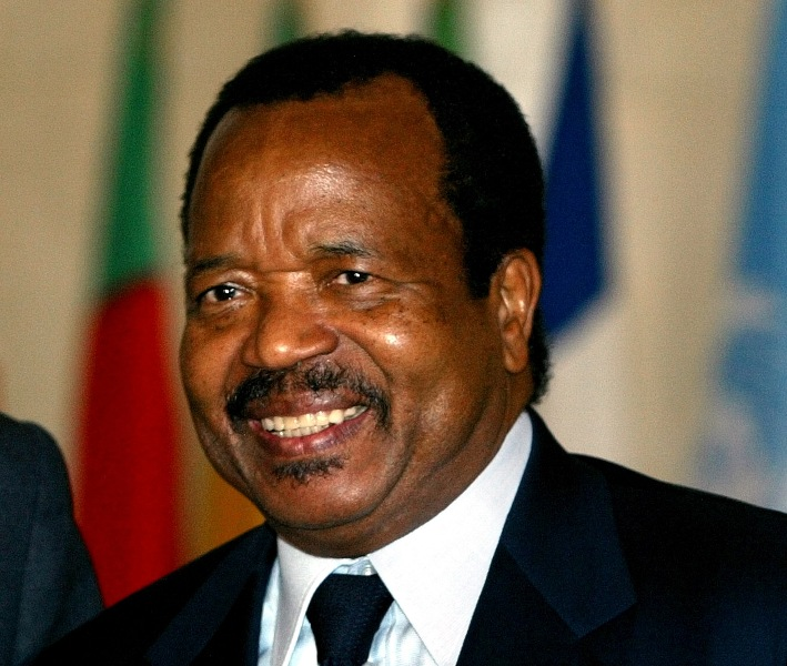 "Photo Paul Biya. ""africansuccess.org"""
