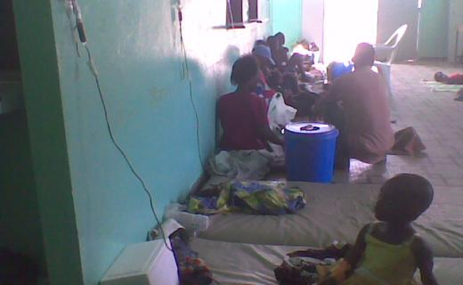 Urgences d'un hôpital à Abidjan. Crédit photo: ObservateursFrance24